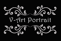 V-Art Portrait logo