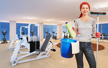 Gym & Fitness Center Cleaning
