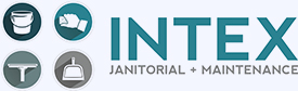 Intex Janitorial & Maintenance Logo