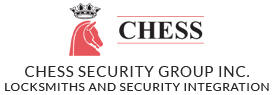 Chess Security Group Inc. Locksmiths And Security Integration Logo
