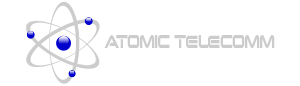 Atomic Telecomm & Electrical Logo