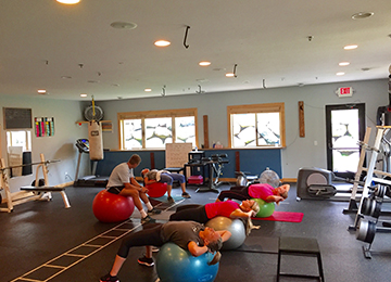 Group Fitness Training Services