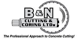 B&N Cutting and Coring Ltd. Logo