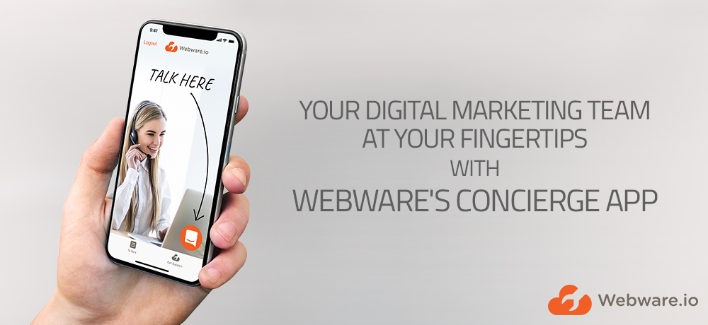 Webware Launches Concierge App